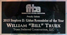 FHBA award for remodeler of the year