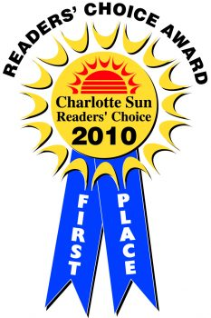 2010 Charlotte Sun Reader's Choice Ribbon