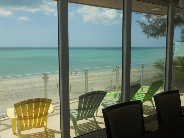 Manasota Key Custom Beach Home - Sliding Glass Doors