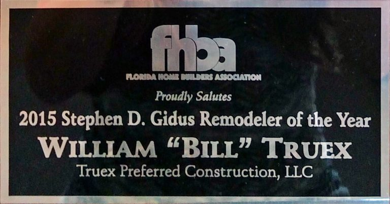 FHBA Homebuilder of the Year Trophy