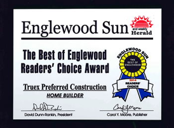 Englewood Sun Redaers' Choice 2014 Home Builder of the Year