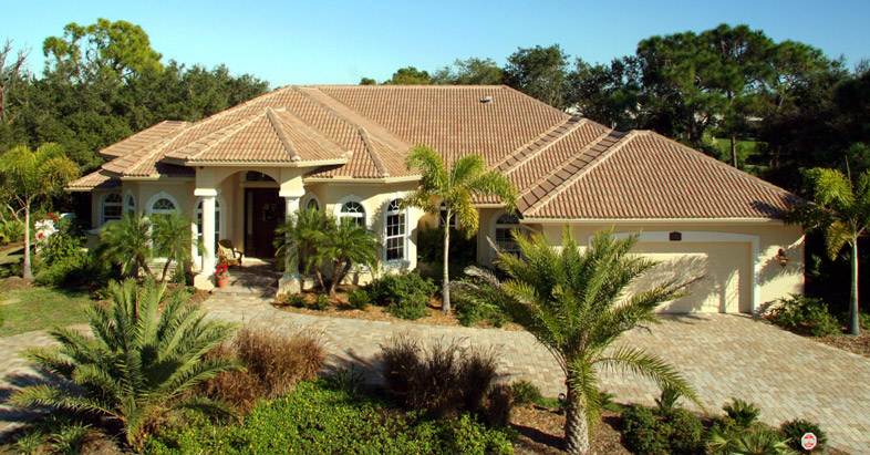 Catalina Mediterranean Style Custom Home Cape Haze Florida