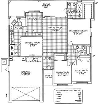 Floorplan Castaway