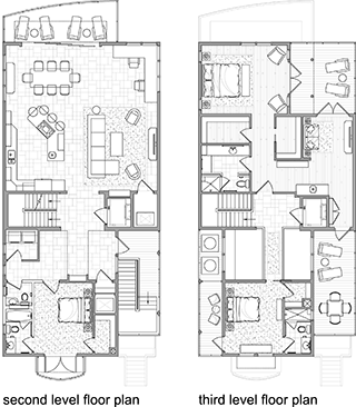 Floorplan Custom Beach Home