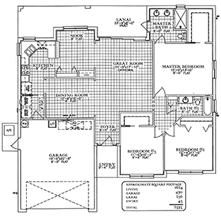 Floorplan Pelican Bay