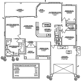Floorplan Royal Palm