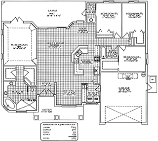 Floorplan Sand Dollar