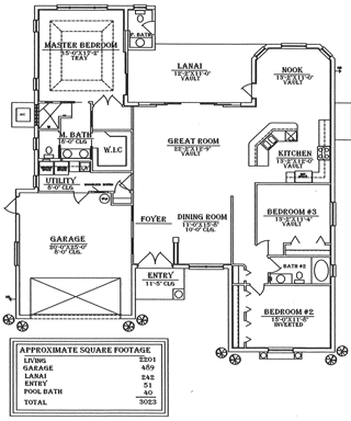 Floorplan Sunseeker