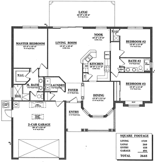 Floorplan Tara Vista
