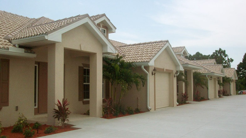 Photo of Finished MultiFamily Triplex Banyan Court Villas