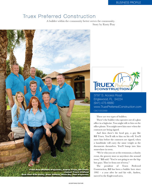Truex Preferred Construction - Business Profile