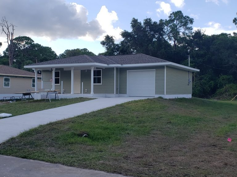 Completed Home